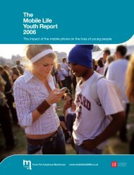 The Mobile Life Youth Report 2006 - YouGov