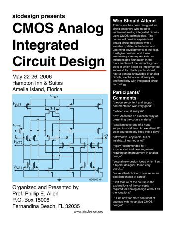 Analysis and design of digital integrated circuits hodges