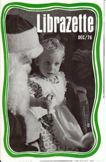 LI BRA VETS (Oct. thru Dec.) - Librascope Memories