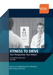 fitness to drive - Road Safety Authority