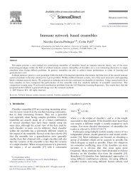 Immune network based ensembles - Computational Intelligence and ...