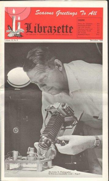 December, 1966 Librazette - Librascope Memories