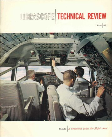 Technical Review - Fall 1959. - Librascope Memories