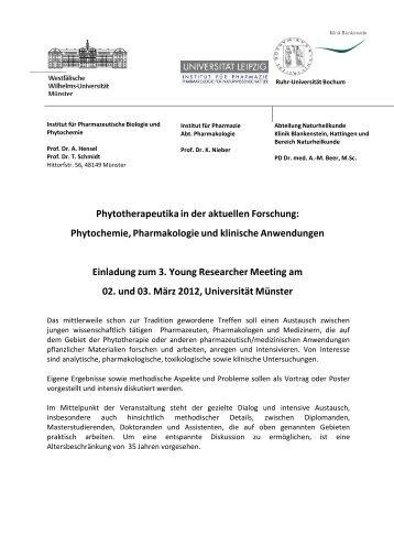 YRW2012 erstes Zirkularx - Westfälische Wilhelms-Universität Münster