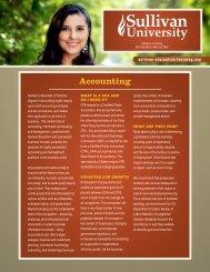 Accounting - Sullivan University