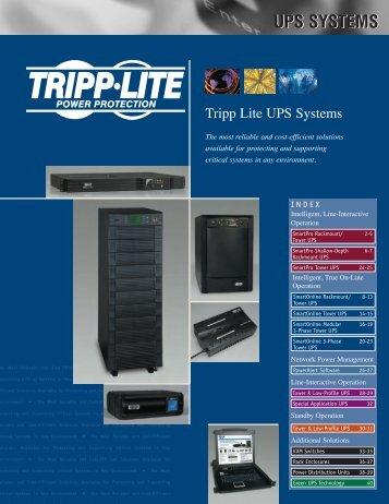 Tripp Lite - stagecraft fundamentals