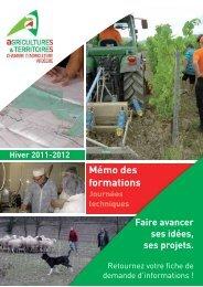 la responsabilité - Chambres d'Agriculture de Rhône-Alpes