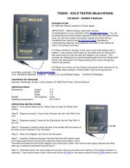 Product instructions - FDJ On Time