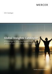 2011 Global Insights - iMercer.com