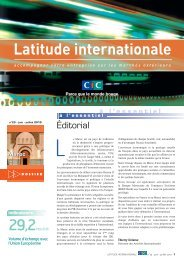 Latitude Internationale n°23 - CIC