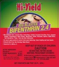 Label 32295 Bug Blaster 2.4 Bifenthrin Approve 3-7-13 - Fertilome