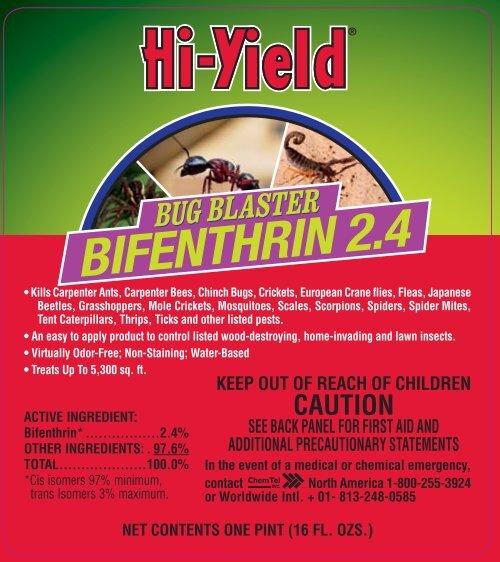 Label 32295 Bug Blaster 2 4 Bifenthrin Approve 3-7-13