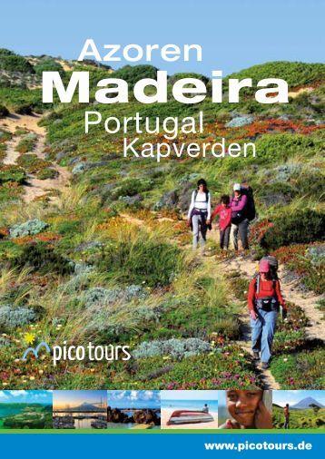 Madeira, Azoren, Portugal, Kapverden: Reisen mit picotours