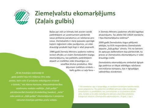 Vārti uz Ziemeļvalstu tirgu - Ziemeļu Ministru padomes birojs Latvijā