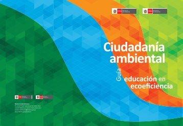 Guía educación en ecoeficiencia - CDAM - Ministerio del Ambiente