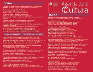Descarga la agenda - Consejo de la Cultura y las Artes