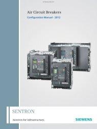Configuration Manual for Catalog LV 10.1 · 2012 - Siemens