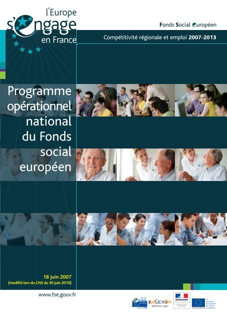 Programme opérationnel national - Fonds Social Européen en France