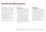 vad är Prader-Willis syndrom? - RBU