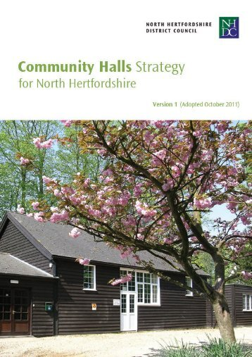 Community Halls Strategy - North Hertfordshire District Council