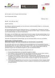 brief - Vereniging BWT Nederland