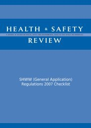 Booklet providing General Applications Checklist