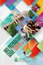 Preparatory Guide for Non-local Students 2013/14 - Cedars - The ...