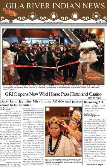 GRIC opens New Wild Horse Pass Hotel and Casino - Gila River ...