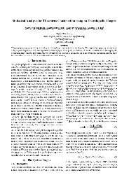 Statistical Analysis for Thesaurus Construction using an ...