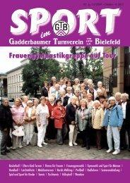GOLDENER OKTOBER! - Gadderbaumer Turnverein v. 1878 eV ...
