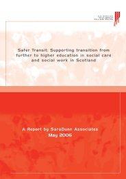 Safer transit - Sara Dunn Associates