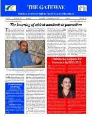 Gateway 070910.pmd - Rotary Club of Bombay
