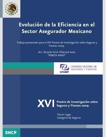 Evolución de la Eficiencia en el Sector Asegurador Mexicano - CNSF