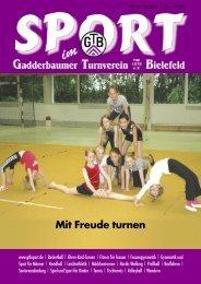 Der Handball-Sommercup 2011 - Gadderbaumer Turnverein v ...