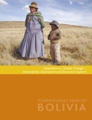 BOLIVIA - Climate Change - World Bank
