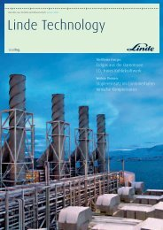 Linde Technology - The Linde Group