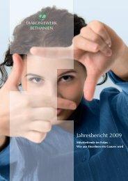Jahresbericht Diakoniewerk Bethanien 2009 (.pdf)
