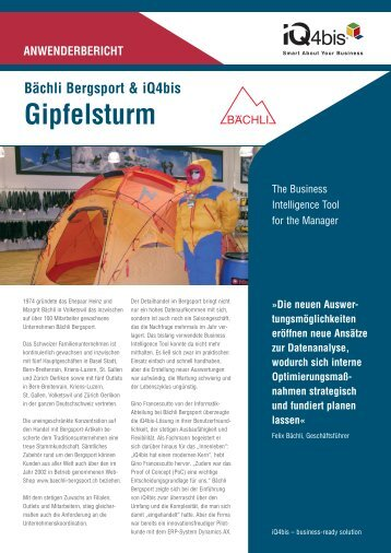 Gipfelsturm - Schindler IT-Solutions GmbH