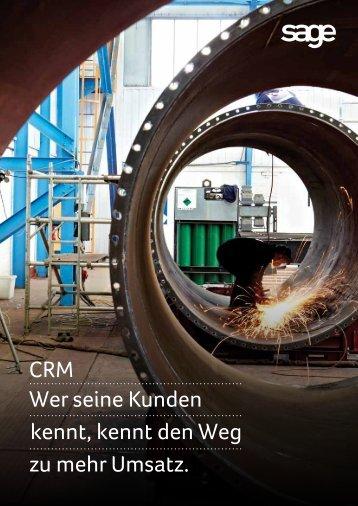 Integration CRM und ERP - Sage