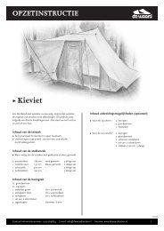 Ω Kieviet - De Waard Tenten