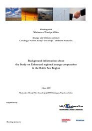 Background information about the Study on ... - Ea Energianalyse