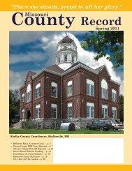 Missouri County Record Spring 2011 (PDF) - Missouri Association of ...
