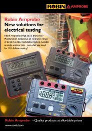 Download the Leaflet here - Contact Electrical Wholesale Ltd