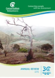 Read More - Conservation Volunteers Australia