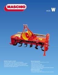 Maschio W Series Til.. - Edney Distributing Co. Inc.