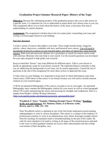 History      Possible Topics for the Research Paper Ryder Exchange Research paper ideas brave new world