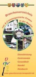 A - Z - Gewerbeverein Kempenicher-Land e.V.