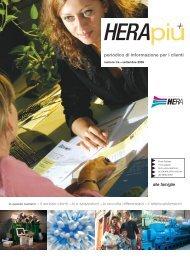 periodico di informazione per i clienti - Il Gruppo Hera
