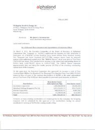 Issuance of Additional Shares & Appointment of Corporate Officer