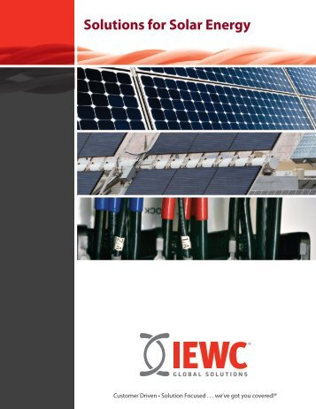 Solutions for Solar Energy - Iewc.co.uk
